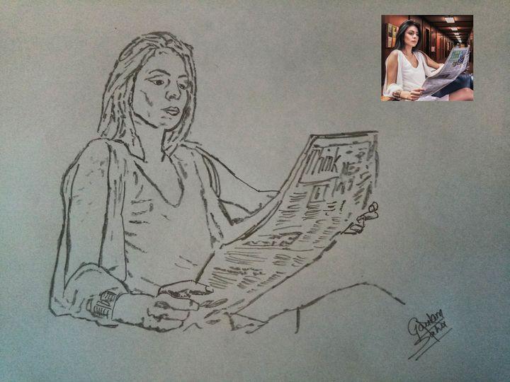 Business woman portrait - Artistgautam