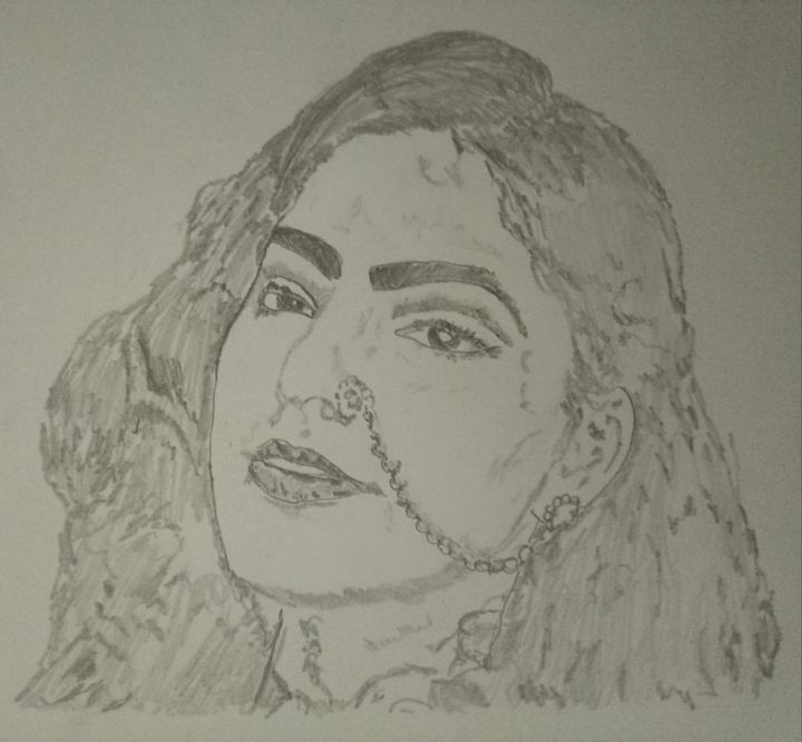 Traditional face - Artistgautam