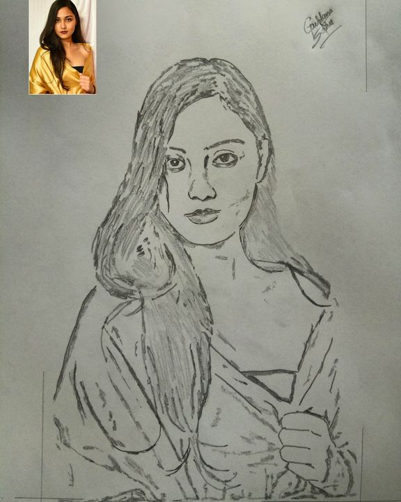 Model portrait - Artistgautam