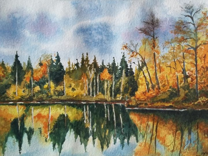 Reflets d' automne - Jean-marie Nicol