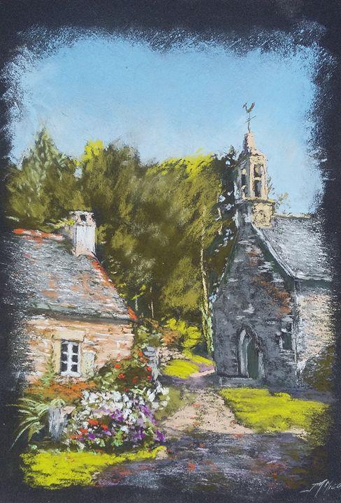 Chapelle Sainte Barbe ( Vendu ) - Jean-marie Nicol