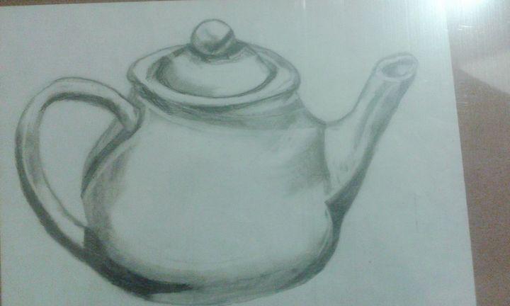 Tea pot - Silverdragonwolf