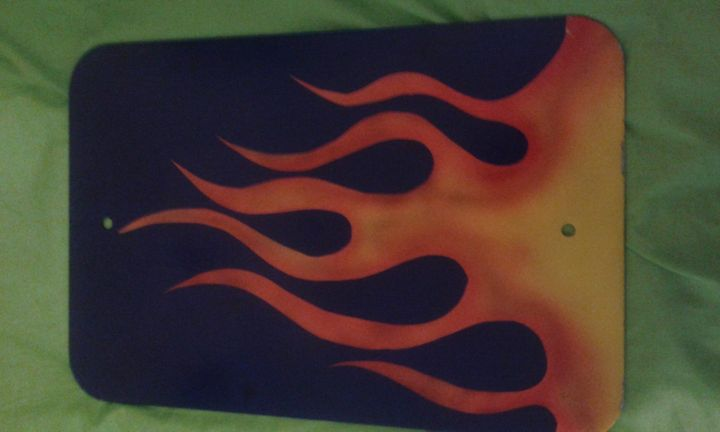 Flames - Silverdragonwolf