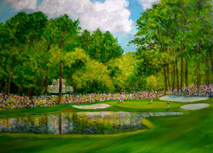 Augustia 16th Hole - artistcollection