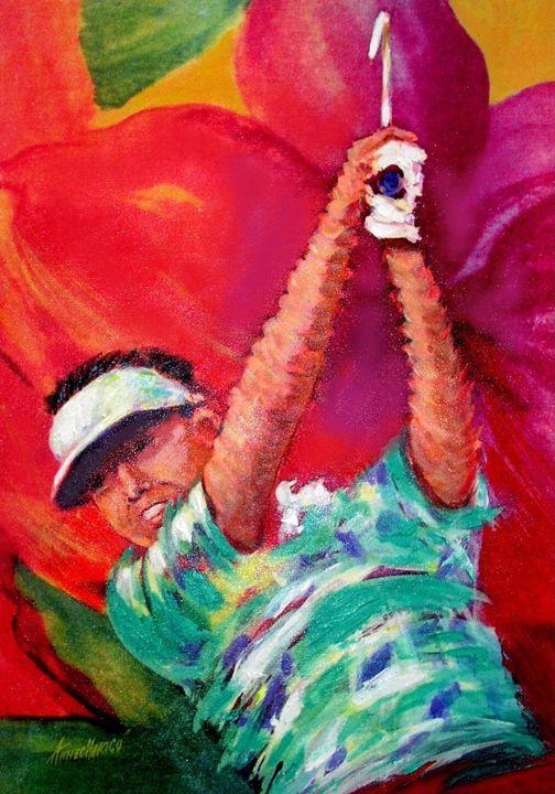 Aloha Golfer - artistcollection