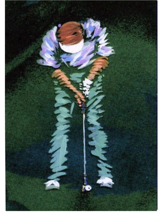The Putt - artistcollection