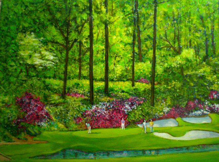 The Augusta Open - artistcollection
