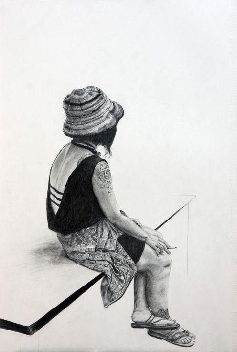 A Girl From Tattoo Festival - Elna Romanov