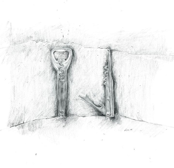 Corkscrew (Cutlery) - Elna Romanov