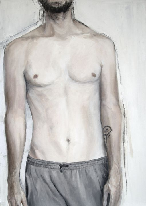 Young Man With Tattoo - Elna Romanov