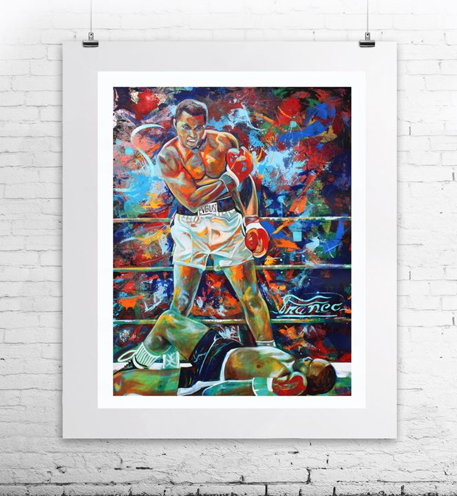 Muhammad Ali - Franco Galley