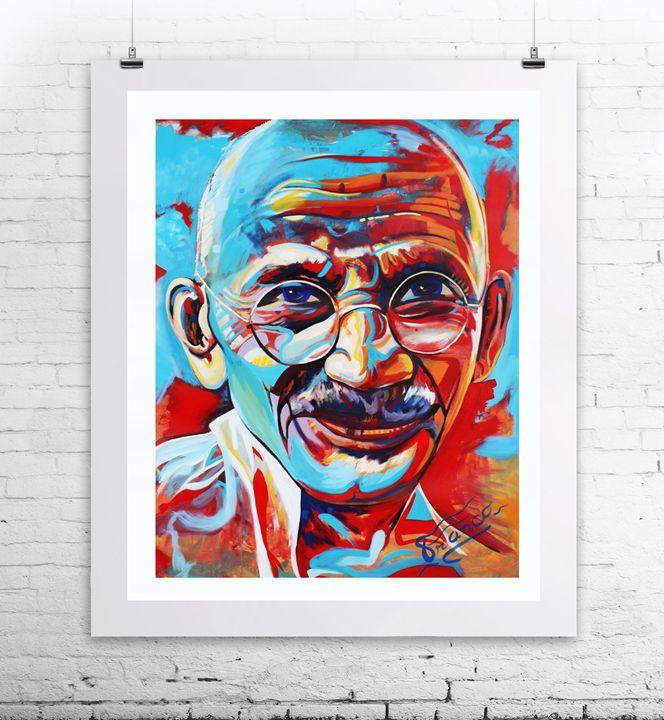 Mahatma Gandhi - Franco Galley