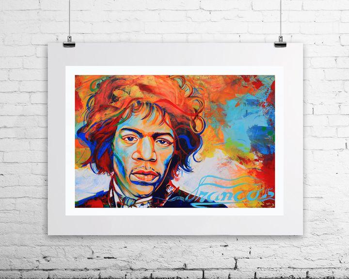 Jimi Hendrix - Franco Galley