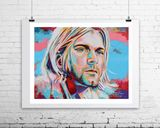Kurt Cobain 16 x 20 in Limited Editi