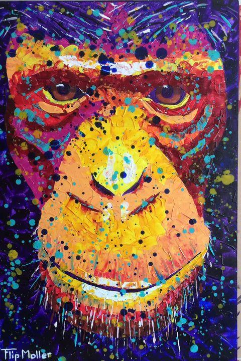 Monkey face - Flip Moller