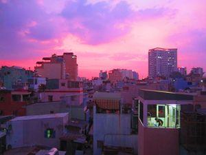Saigon Cityscape, Vietnam