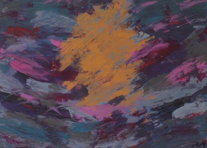 Gold, Pinks, Greys - Michael Middleton