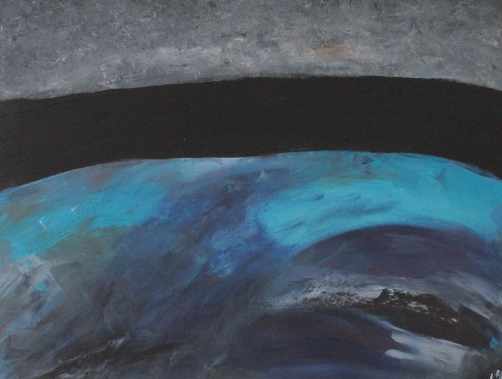 #2 (Restless Blues, Blacks, Greys) - Michael Middleton