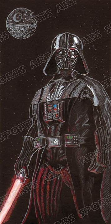 Darth Vader Star Wars Art Print - ABS Sports Art & ABS Wood Works