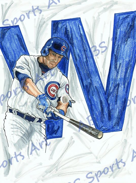 Miguel Montero Chicago Cubs 9 x 12 - ABS Sports Art & ABS Wood Works