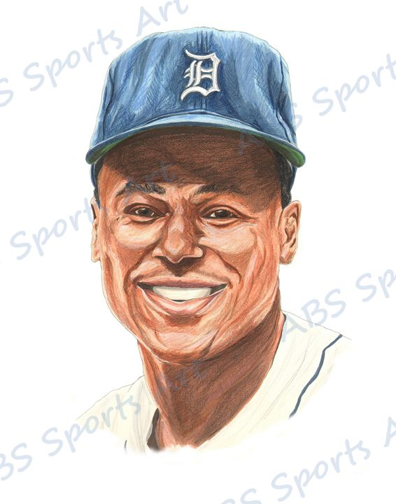 Lou Whitaker 11 x 14 Print - ABS Sports Art & ABS Wood Works