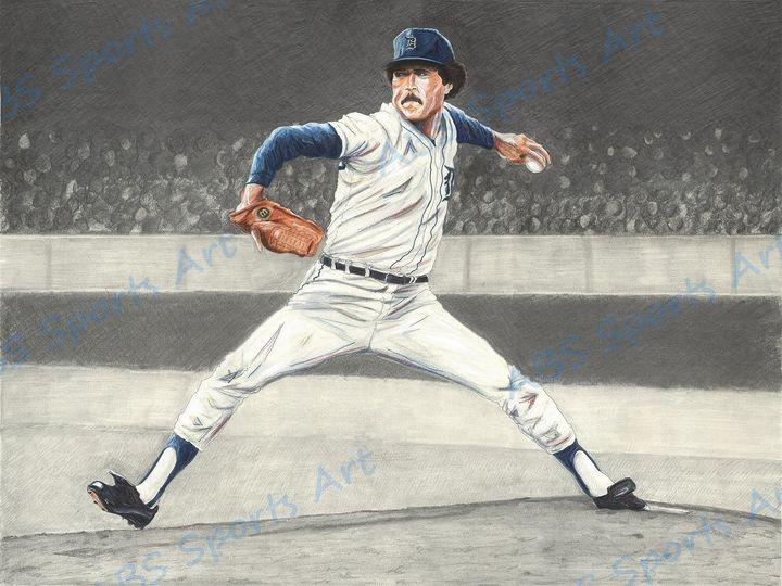 Willie Hernandez Art Print - ABS Sports Art & ABS Wood Works