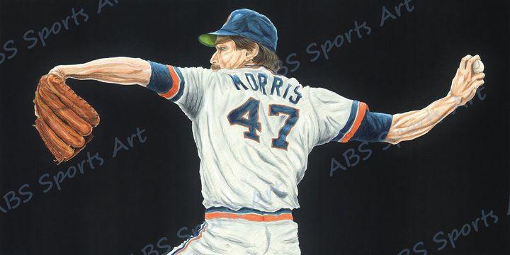 Jack Morris Fine Art Print - ABS Sports Art & ABS Wood Works
