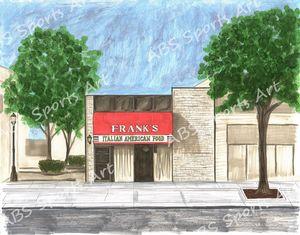Frank's Pizza 11 x 14 Print