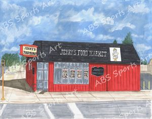 Jerry's Market 11 x 14 Print