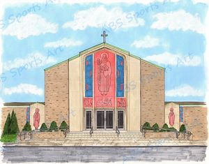 St. Joseph's Church 11 x 14 Print