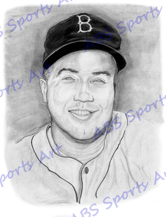 Duke Snider 8 x 10 inch Print - ABS Sports Art & ABS Wood Works