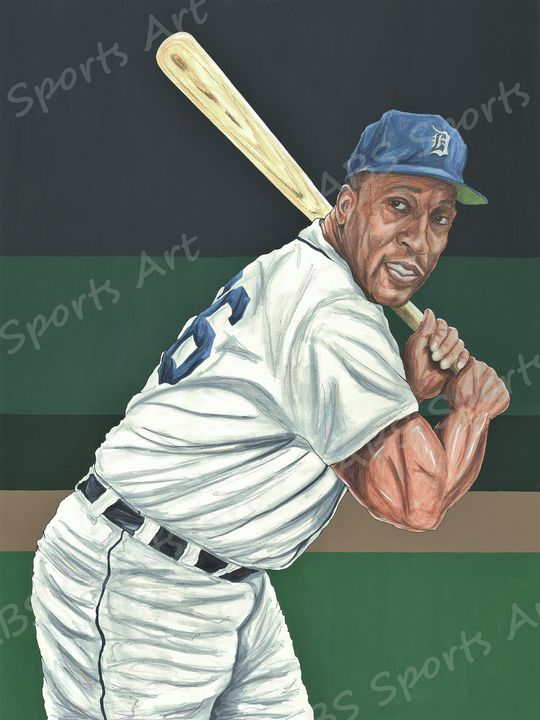 Gates Brown Fine Art Print - ABS Sports Art & ABS Wood Works
