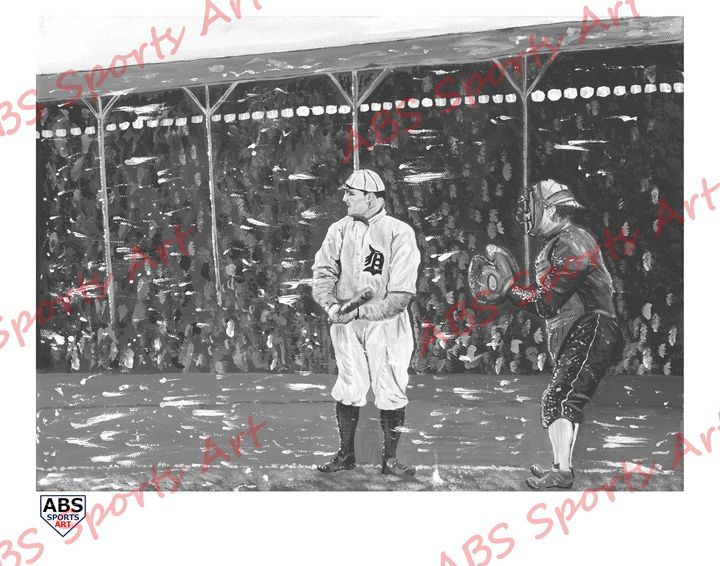 Play Ball in a Blizzard 11x14 Print - ABS Sports Art & ABS Wood Works