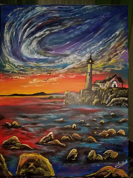 Stormy seas - Alexandria