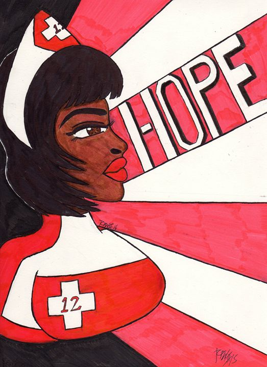 Nurse Laura Hope - Ronald Woods