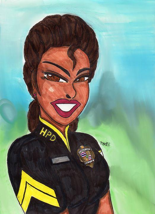 Officer Inoke - Ronald Woods