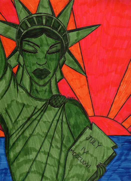 Liberty on break - Ronald Woods