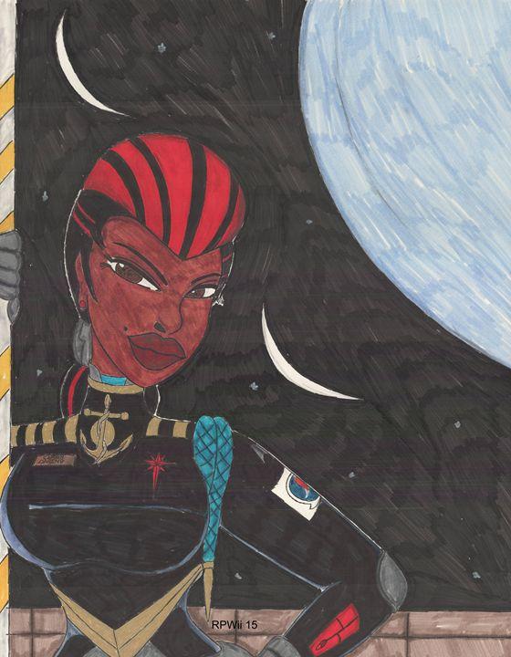 Starship Captain Veronica Daring - Ronald Woods