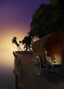 Cart on a Path