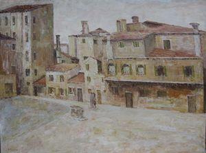 Il Campo della Maddalena,Venice 1930