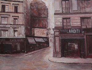 Rue de la Mt.St.Genevieve,Paris 1925