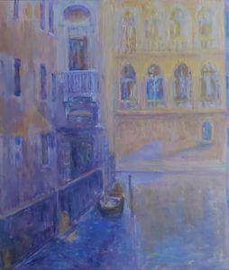 """""""Il Rio della Verona"""" Venezia 1930 - paunovicart"""