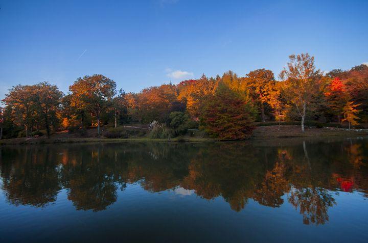 Autumn Lake - Ugur Ugurlu