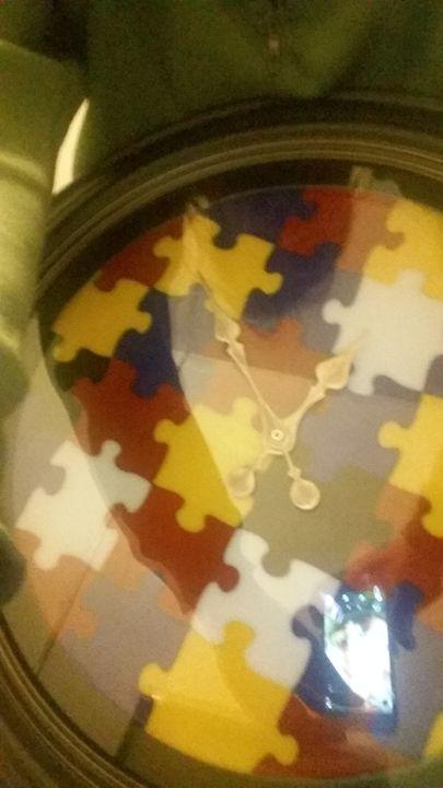 puzzle clock - Radzerwald