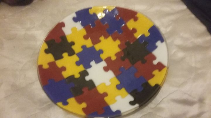 puzzle plate - Radzerwald