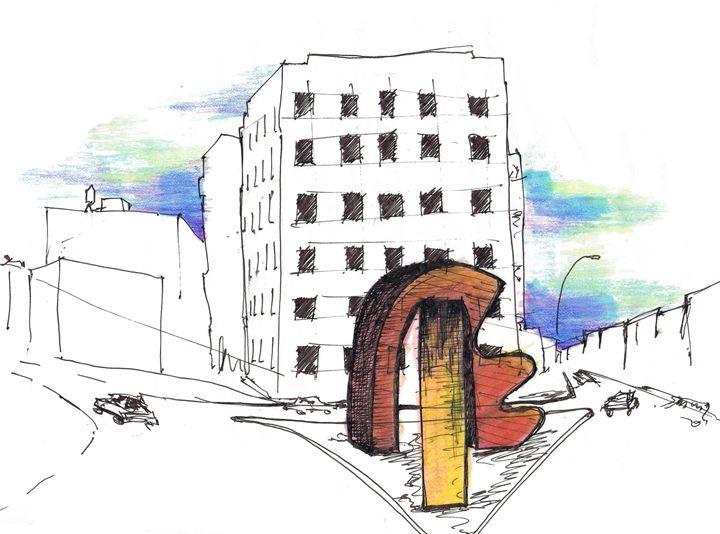 Urban corner - Munns