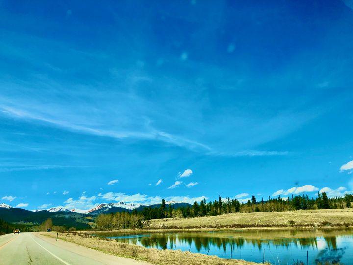 Lake Reflections - RW Art by RW