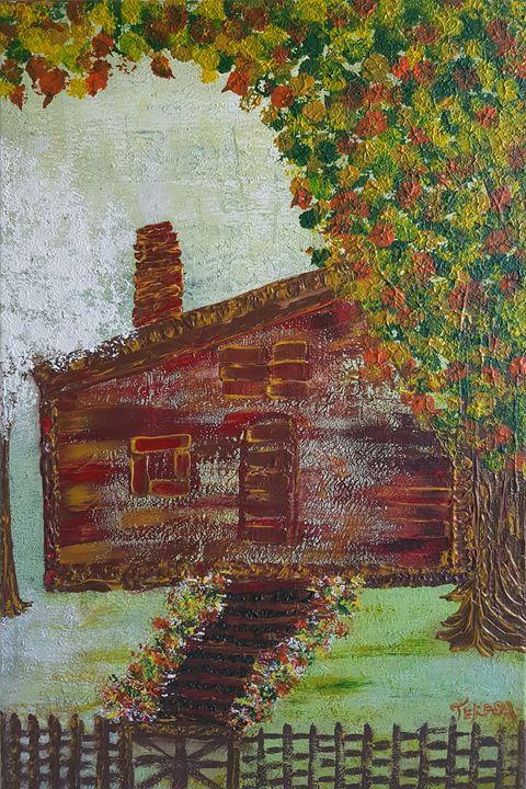 Cozy Cottage - TerryArt