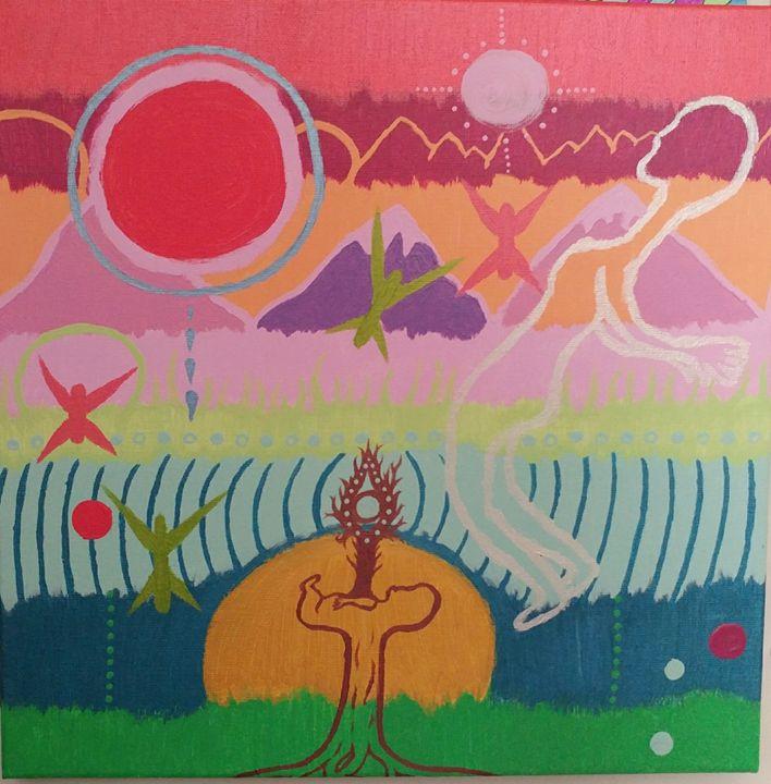Alien Sunrise - Sarahs Art
