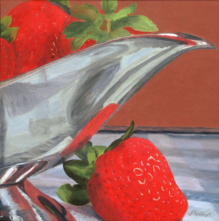 Strawberry Season - Lynne Reichhart Fine Art